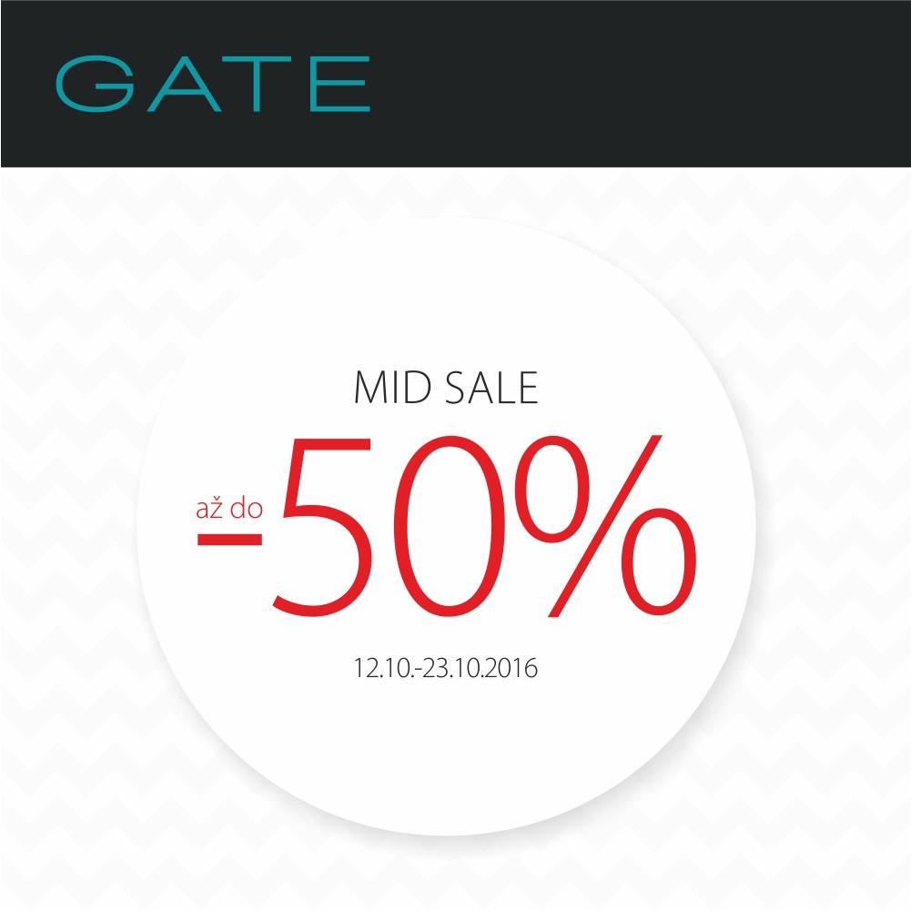 Veľký výpredaj GATE